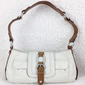 """Sigrid Olsen Shoulder Bag Ivory 10.5 x 5 x 2.5"""""""
